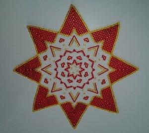 rød stjernedug
